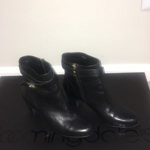 Ann Taylor leather ankle boots